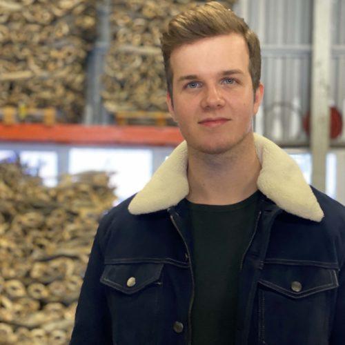 Fredrik Greger Fra Røst Har Deltatt På Start Opp Salten Etablererkurs.