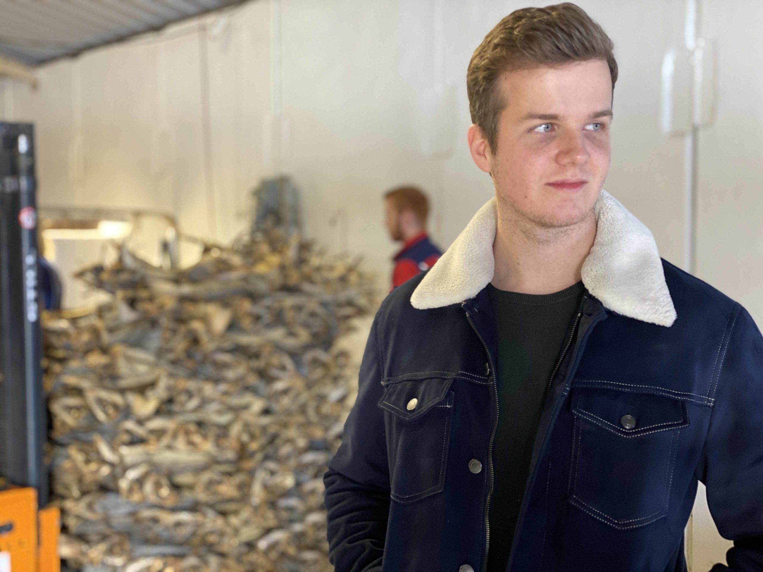 Fredrik Greger er valgt inn i det nye styret til næringsforeningen på Røst